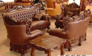 Kursi Sofa Mewah Romawi Royal
