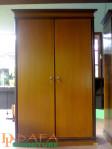 Lemari Pakaian Minimalis 2 Pintu