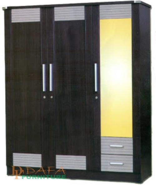 lemari pakaian kaca