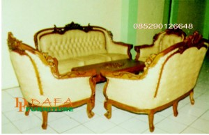 Kursi Sofa Romawi Virginia