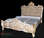 Tempat Tidur Rococo Mewah