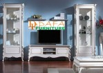 Lemari Bufet Hias Duco, Bufet TV Mewah Jepara, Bufet TV Minimalis