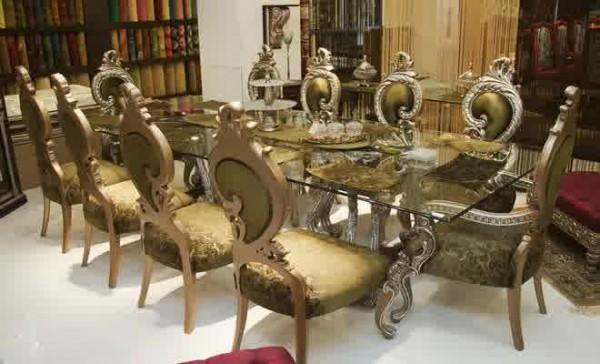 Kursi Meja Makan Mewah Royal Jepara