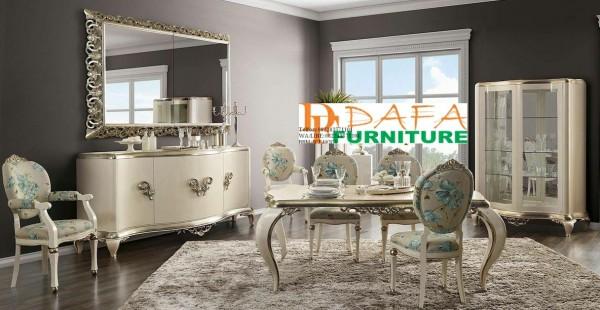 Kursi Meja Makan Mewah, Set Ruang Makan