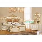 Set Tempat Tidur Gold Mewah