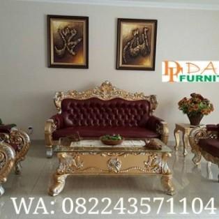 Sofa Tamu Ukir Mewah