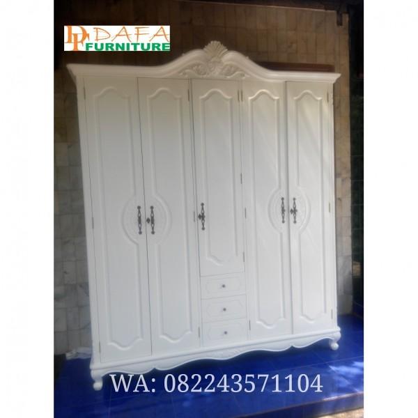 Lemari Pakaian Klasik Pintu 5