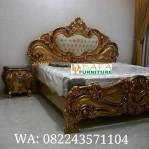 Set Kamar Mewah Baroque Gold
