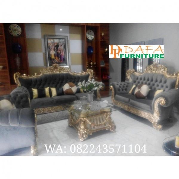 Set Sofa Tamu Mewah Jati Jepara