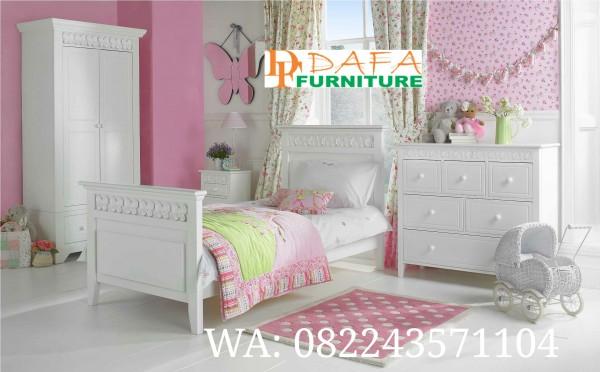Set Kamar Anak Minimalis Putih