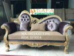 Sofa Santai Mewah Gold Jepara