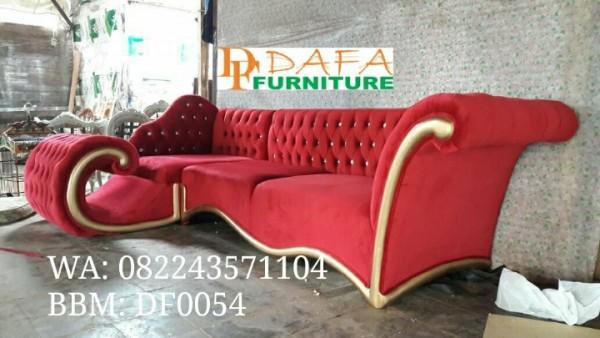 Sofa Sudut Mewah Terbaru
