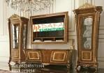 Set Bufet TV Ukir Jati