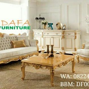 Sofa Mewah Gold