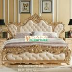 Tempat Tidur Ukir Gold