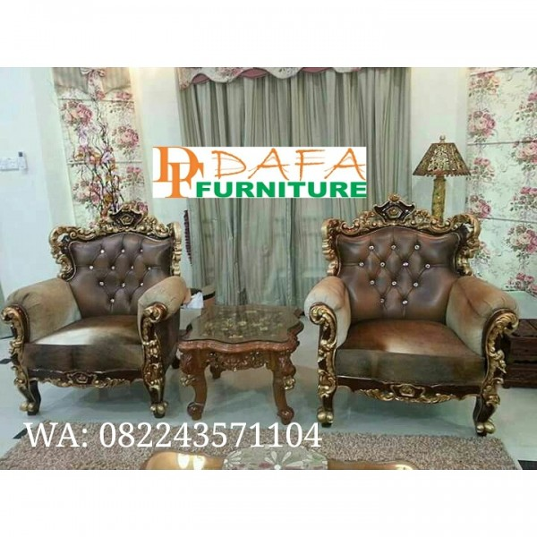 Kursi tamu ukir sofa furniture