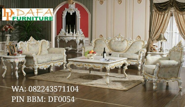 Set Ruang Tamu Mewah Furniture Royal