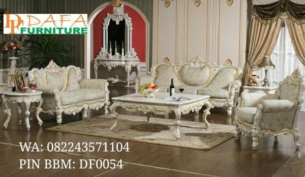 Set Ruang Tamu Mewah Furniture Royal