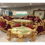 Kursi Tamu Mewah Luxury Style