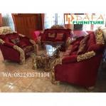Sofa Ruang Tamu Ukiran Klasik Mewah Mebel Jepara Terbaru