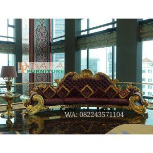 Kursi Sofa Tamu Mewah Ukir Kerang Saigon