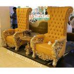 Kursi Teras Mewah Bellagio Ukiran Klasik Gold