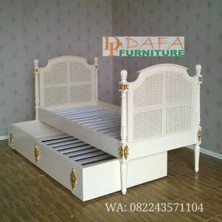 Ranjang Tempat Tidur Susun Minimalis Modern Terbaru