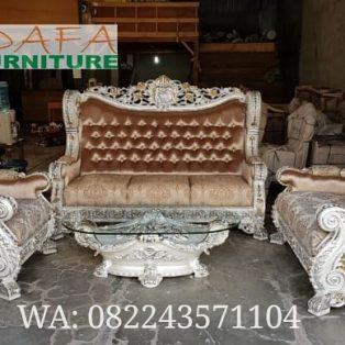 Set Kursi Sofa Tamu Ukir Jepara Mewah Klasik Terbaru