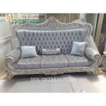 Kursi Sofa Tamu Ukir Mewah 3 Dudukan Terbaru