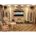 Set Bufet Tv Mewah Model Klasik Eropa Terbaru
