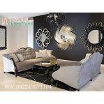 Set Kursi Sofa Tamu Ukir Modern Mebel Jepara Terbaru