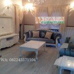 Set Sofa Tamu Modern Duco Putih Terbaru