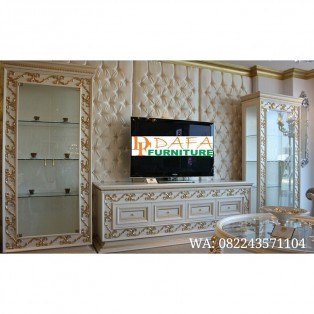 Set Buffet Tv Mewah Full Luxury