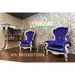 Set Kursi Sofa Teras Ukir Jepara Silver Mewah Terbaru