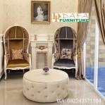 Set Kursi Teras Depan Rumah Model Kerudung Terbaru