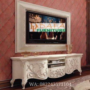 Meja Tv Mewah Duco Klasik Modern Terbaru