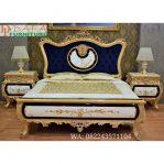 Tempat Tidur Klasik Modern Mewah Monica Terbaru