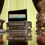 Meja Tv Unik Mewah Ukiran Menarik Terbaru
