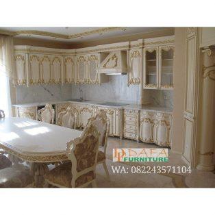 Kitchen Set Ukir Jepara Mewah Modern Terbaru