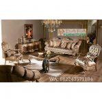 Set Kursi Sofa Tamu Ukir Duco Emas Mewah Terbaru