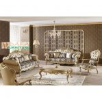 Set Sofa Ruang Tamu Ukir Jepara Mewah Klasik Terbaru