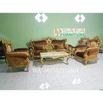 Set Sofa Tamu Ukir Mebel Jepara Mewah Terbaru