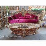 Sofa Tamu Mewah Dan Meja Tamu Kerang Mewah Terbaru
