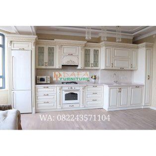 Kitchen Set Modern Putih Mewah Terbaru