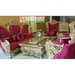 Set Kursi Sofa Tamu Mewah Ukir Klasik Terbaru