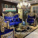 Set Kursi Sofa Tamu Mewah Ukiran Jepara Terbaru