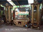 Set Bufet Tv Klasik Mewah Mebel Jepara Terbaru DFJ-031
