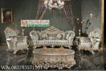 Set Kursi Sofa Tamu Mewah Ukiran Jepara Terbaru DFJ-036