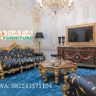 Set Sofa Tamu Ukir Jepara Klasik Terbaru DFJ-035