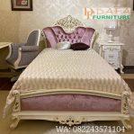 Set Tempat Tidur Duco Klasik Ukir Mewah Terbaru DFJ-073